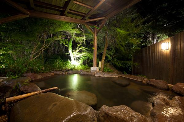 ゆふいん月燈庵特別室専用貸切露天風呂
