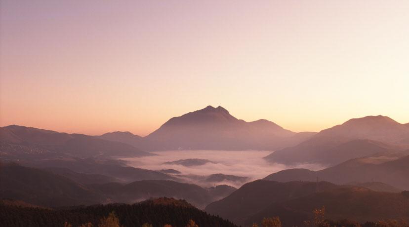 秋の由布岳
