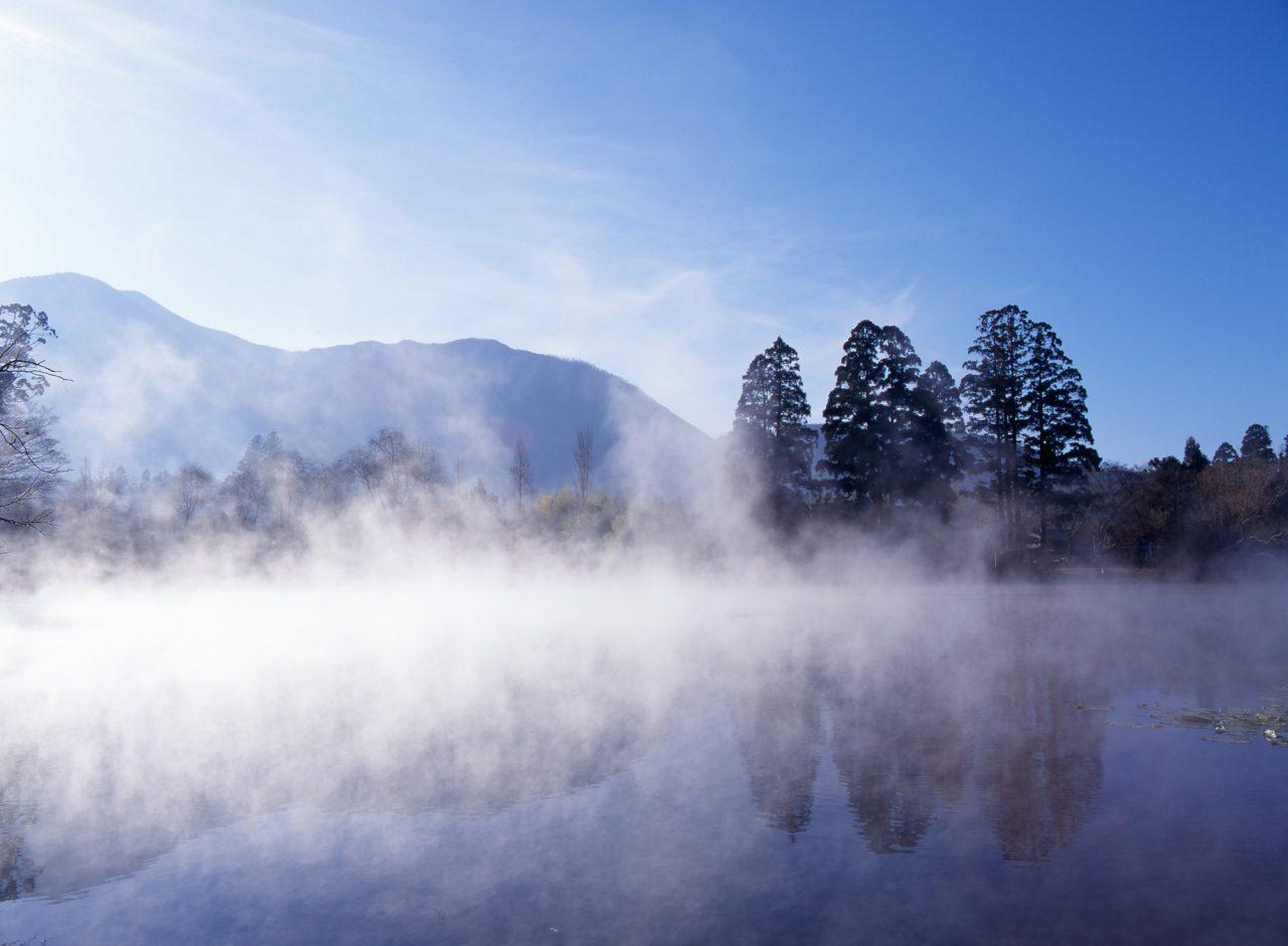 金鱗湖散策へ